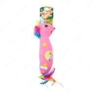Игрушка для кошек единорог с привлекающим запахом серебрянная лоза + кошачья мята)Hartz Cattraction with Silver Vine & Catnip Magic Unicorn Kicker Cat Toy
