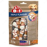 Кости жевательные для собак 8in1 Triple Flavour XS