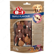 Лакомство для собак Шашлычки 8in1 Triple Flavour Skewers
