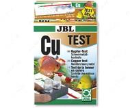 Экспресс-тест для определения содержания меди в пресноводном-морском аквариуме и пруду Cu Copper Test JBL