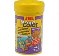 Основной корм в форме хлопьев для яркой окраски аквариумных рыбок NovoColor JBL