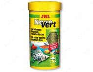 Основной корм в форме хлопьев для травоядных аквариумных рыб Novo Vert JBL