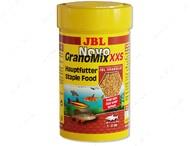 Основной корм в форме гранул для очень маленьких аквариумных рыб NovoGranoMix XXS JBL
