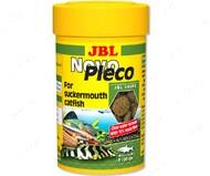 Основной корм для небольших и средних кольчужных сомов Novo Pleco JBL
