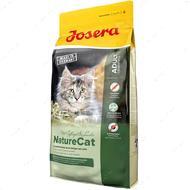 Сухой корм для котят и взрослых кошек с домашней птицей NatureCat