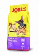 Сухой корм Йозера для щенков с чувствительным пищеварением JosiDog Jonior Sensetive