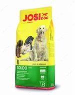 Сухой корм Йозера для менее активных и пожилых собак JosiDog Solido