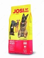 Сухой корм Йозера для спортивных собак с повышенными потребностями в энергии Josi Dog Agilo Sport
