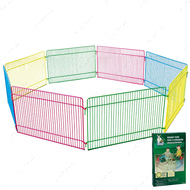 Вольер для грызунов, 8 цветных панелей PLAY RUN 23 х 35 см