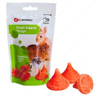 Лакомство для грызунов дропсы с клубникой Flamingo Drops Strawberry