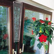 защитные сетки на окна для котов, боковые ограничители Window Prot Grille