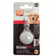 """""""Blinki Disc"""" светящийся брелок безопасности для собак, водонепроницаемый"""