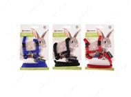 Шлея с поводком для кролика Flamingo Rabbit Harness+Lead