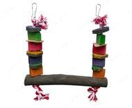 Игрушка качели для крупных попугаев Flamingo Parrot Toy Swing