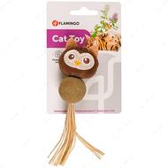 Игрушка для котов сова с кошачьей мятой Catnip Owl