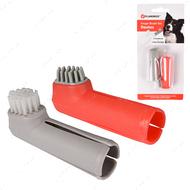 Набор для собак зубная щетка на палец Finger Toothbrush Set