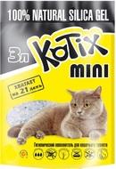 Котикс Наполнитель силикагелевый KOTIX 3 л