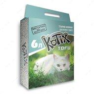 Комкующийся соевый наполнитель Котикс Тофу классик Kotix Tofu Classic