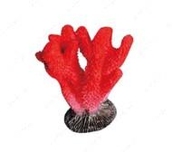 Декорация для аквариума коралл красный KW Zone King's
