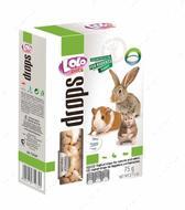 Дропсы с йогуртом для грызунов LoLo Pets Yoghurt drops for rodents and rabbit
