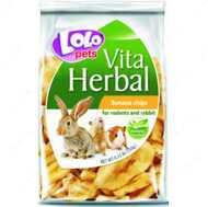 Лакомство для грызунов и кроликов банановые чипсы LoLo Pets Vita Herbal Banana chips