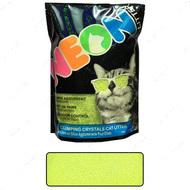 НЕОН комкующийся кварцевый наполнитель, неоновый зеленый Neon Litter Clump