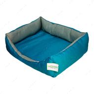 Лежак №6 для собак и котов Тоби Бирюза Lucky Pet