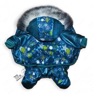 Комбинезон для собак Орнамент Снежинки