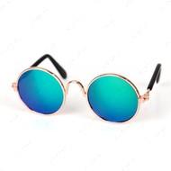 Солнцезащитные очки для кошек и собак круглые