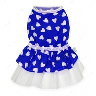 Платье для собак синее Mr.БарBOSS LOVE