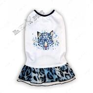 Платье для собак леопард Mr.БарBOSS
