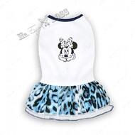 Платье для собак минни голубое Mr.БарBOSS