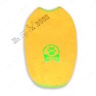 Футболка для собак желтая Mr.БарBOSS ADIDIG