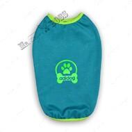 Футболка для собак зеленая Mr.БарBOSS ADIDIG