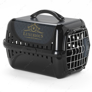 Переноска для котов c металлической дверцей и замком IATA ТРЕНДИ РАННЕР Trendy Runner luxurious pets