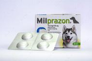 Милпразон - антигельминтные таблетки для собак от 5 кг KRKA Milprazon