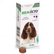 Таблетки Бравекто от блох и клещей для собак 10 -20 кг Bravecto