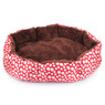 Лежанка для собак и котов в горошек