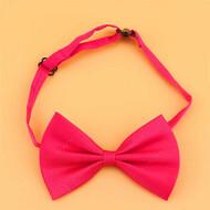 Галстук бабочка - розовый для собак