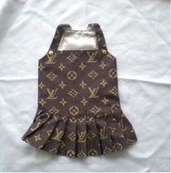 Сарафан для собак Louis Vuitton browne