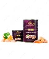 Влажный корм для котов с курицей и креветками Nuevo Chicken & Shrimps ADULT