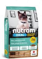 Сухой корм для котов с чувствительным пищеварением и проблемами кожи и шерсти I19 Ideal Solution Support Skin Coat Stomach