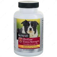 Успокаивающее средство анти-стресс для собак средних и крупных пород, жевательные таблетки Nutri-Vet Pet-Ease Extra Strength