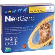 Нексгард  Спектра - таблетки от блох и клещей для собак от 3.5 до 7.5 кг NexGard Spectra