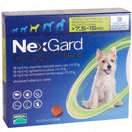 Нексгард  Спектра - таблетки от блох и клещей для собак от 7.5 до 15 кг NexGard Spectra