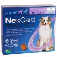 Нексгард  Спектра - таблетки от блох и клещей для собак от 15 до 30 кг NexGard Spectra