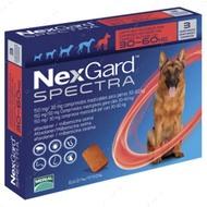Нексгард  Спектра - таблетки от блох и клещей для собак от 30 до 60 кг NexGard Spectra