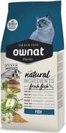 Сухой корм для взрослых котов с рыбой Ownat Classic Fish