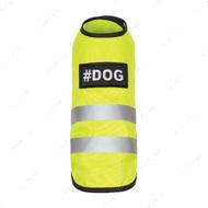 Жилет - безопасная прогулка для собак YELLOW VEST