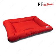Лежанка для собак АСКОЛЬД красно-серый BED ASKOLD